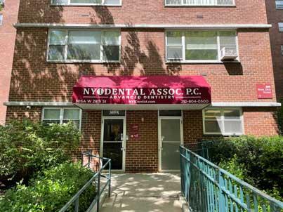NY1 dental dentist store front